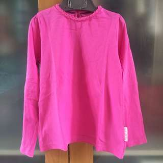 mothercare dark pink long sleeves top