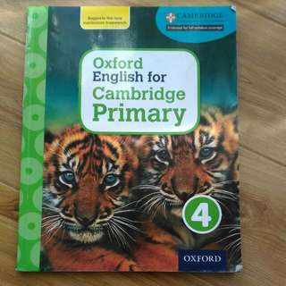 Oxford English For Primary