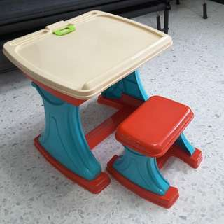 Table Chair Art Set For Toddler
