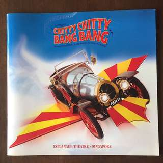 Chitty Chitty Bang Bang Esplanade Theatre Collector's Booklet