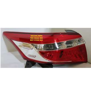 TOYOTA VIOS 2013-2017 (NCP150) TAIL LIGHTS / TAIL LAMPS (NEW)