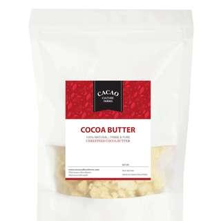 Unrefined Cocoa Butter Prime & Pure