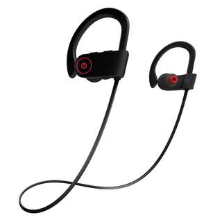 Otium Bluetooth Sports Waterproof & Sweatproof Headphones/Earphones w Mic