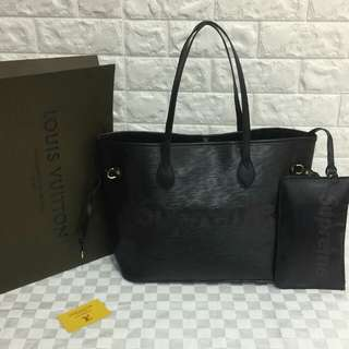 Louis Vuitton Supreme Black Neverfull