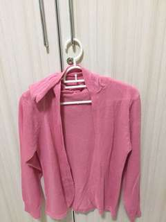 Sweater Topi Pink