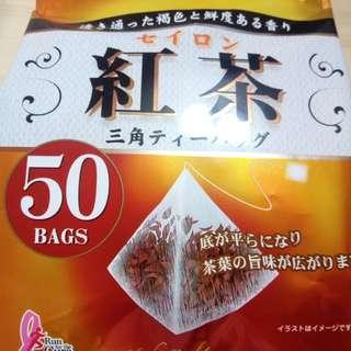 🚚 國太樓日本道地風味立體三角紅茶包(50小包)