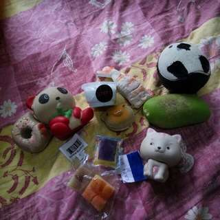 10 squishy 30rb!!!  Squishy termurah