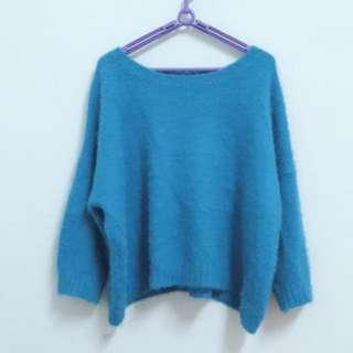 🚚 美美滴*土耳其藍*-毛線上衣