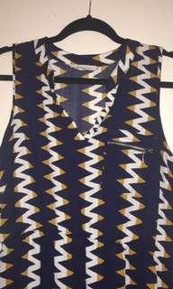 Midi dress - stretch waist