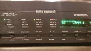 Audio research ls10 HD line stage preMplifier