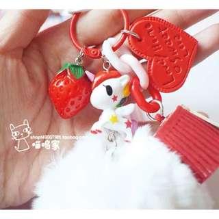 tokidoki - Unicorn keychain