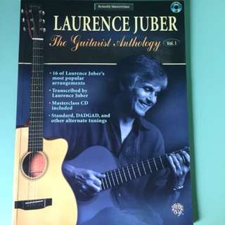 Lawrence Juber Guitar Tab Book with CD