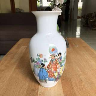 Antique Chinese White Porcelain Vase