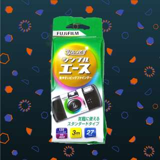 TERMURAH Disposable Camera ISO 400 (27 Exposures)