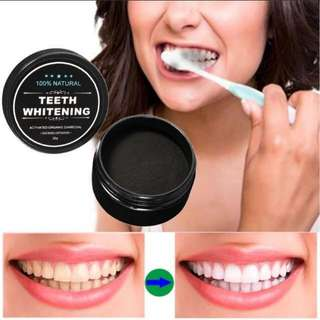 Teeth whitening for smoker or coffee stain