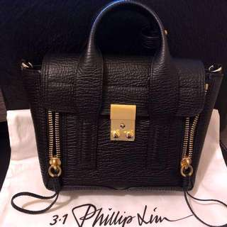 3.1 Phillip Lim mini bag 黑金色