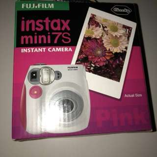 Fujifilm Instax Mini 7s [Brand New] with Warranty