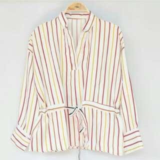 Milea stripe blouse