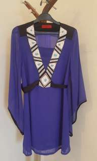 Bohemian SOLE MIO Mini Dress