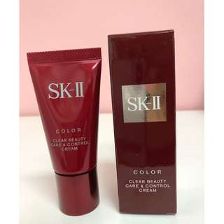 SK-II Color Clear Beauty Care & Control Cream SPF25 PA+++, 25g