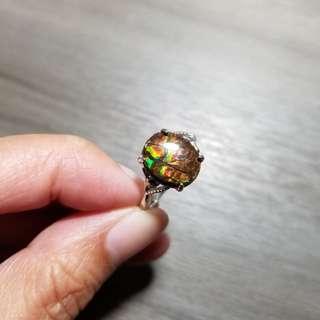 特別款 D1 斑彩 戒指 水晶