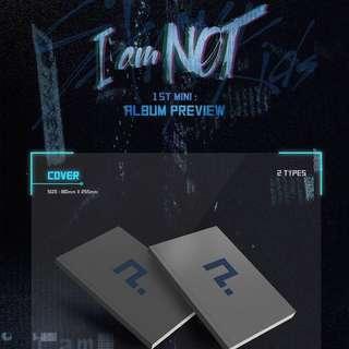 [Inc EMS] Stray Kids - 1st Mini Album [I am NOT]