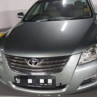 Toyota camry 2.0A  2008