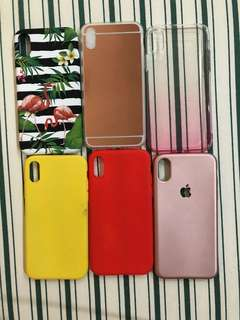 Iphone X assorted cases