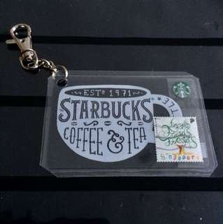FRIENDS Stamp Starbucks Keychain