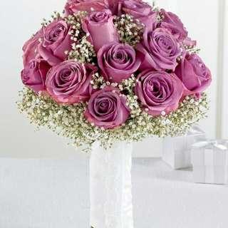 Flower Bouquet∕Hand Bouquet∕Birthday Bouquet∕Anniversary Bouquet∕Proposal Bouquet - 60317
