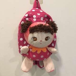 可愛娃娃後背包