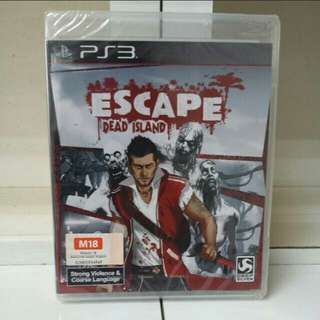 PS3 Escape From Dead Island