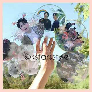 531 GOT7/WANNAONE/JJP TRANSPARENT FAN