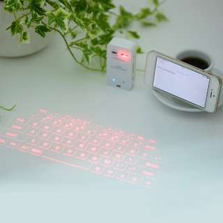 Laser bluetooth projection virtual keyboard
