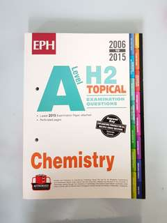 A-level H2 Chemistry Ten Year Series (Topical)