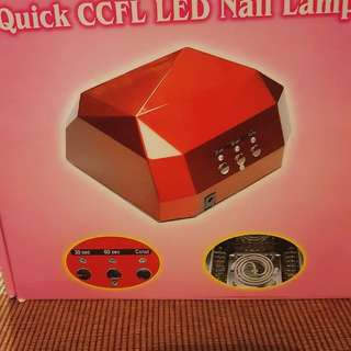 Brand new Led and uv nail lamp