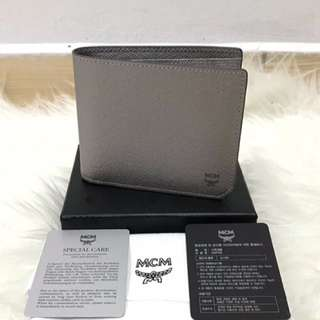 MCM Brick Bifold Wallet With ID Holder - Authentic