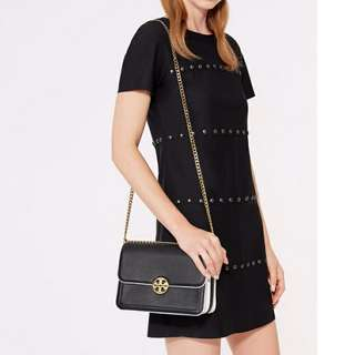 美國專櫃 TORY BURCH CHELSEA SATCHEL 全皮手袋