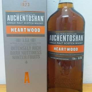 AUCHENTO 心材雙桶單一纯麥  1L WHISKY 威士忌