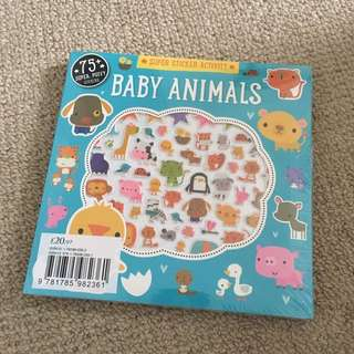 Kids activity sticker book