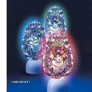 日本代購: 砌圖系列: Minions 小黃人/小小兵 (Party款) 3D puzzle (橢圓型燈座)
