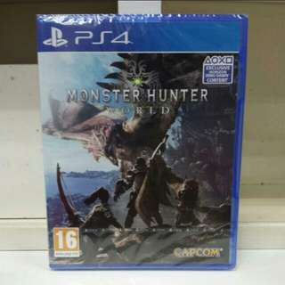 PS4 Monster Hunter World (R2) Can Play With R3 Online