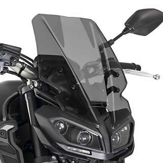 Yamaha MT09 2018 Windshield With Full Installation Kit