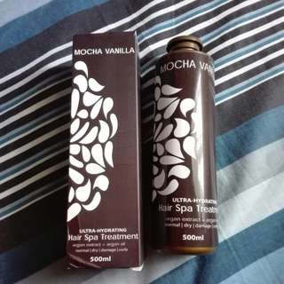 Mocha Vanilla Hair Spa Treatment