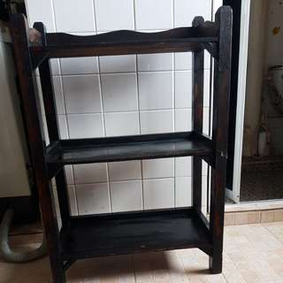 Old teak wood rack 柚木架