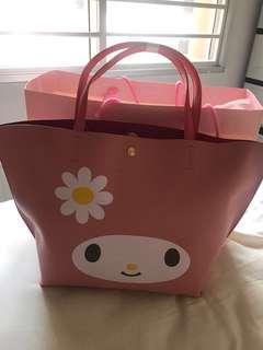 My Melody tote bag Colors by Jennifer Sky