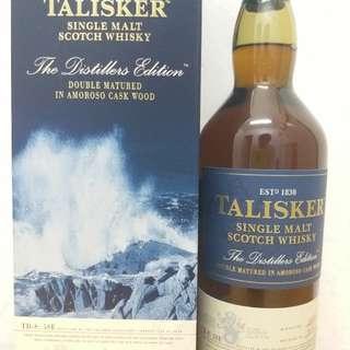 Talisker 雙桶單一纯麥 700ml whisky威士忌