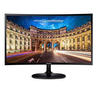 "SAMSUNG C24F390F 1800 Curved 24 inch LED Free Sync 24"" Full HD 1920x1080 VA panel HDMI D-Sub Monitor LC24F390FHEXXS C24F390FHE"