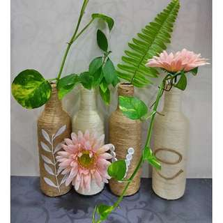 Handmade Bottle Decor