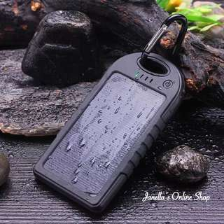 Waterproof solar powerbank 98000mah